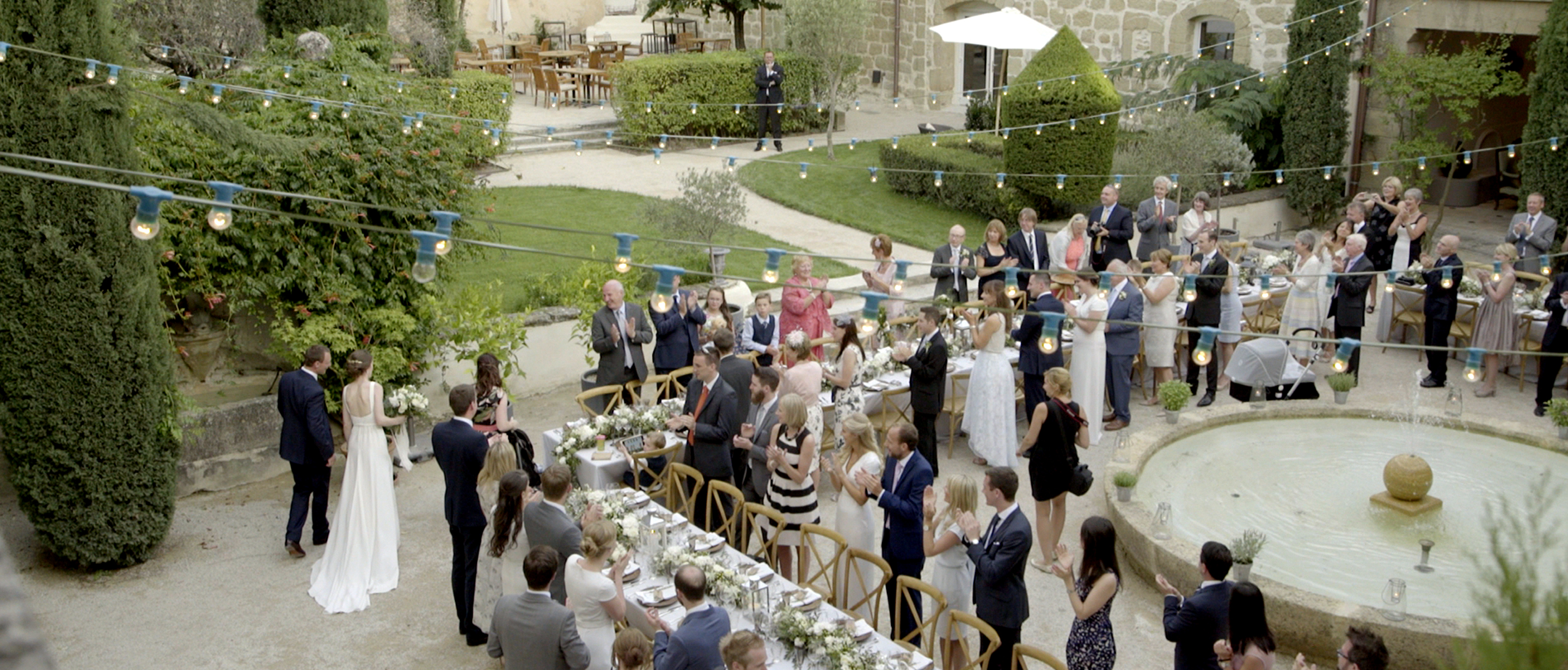 beautiful chateau de massillan wedding south of france 3