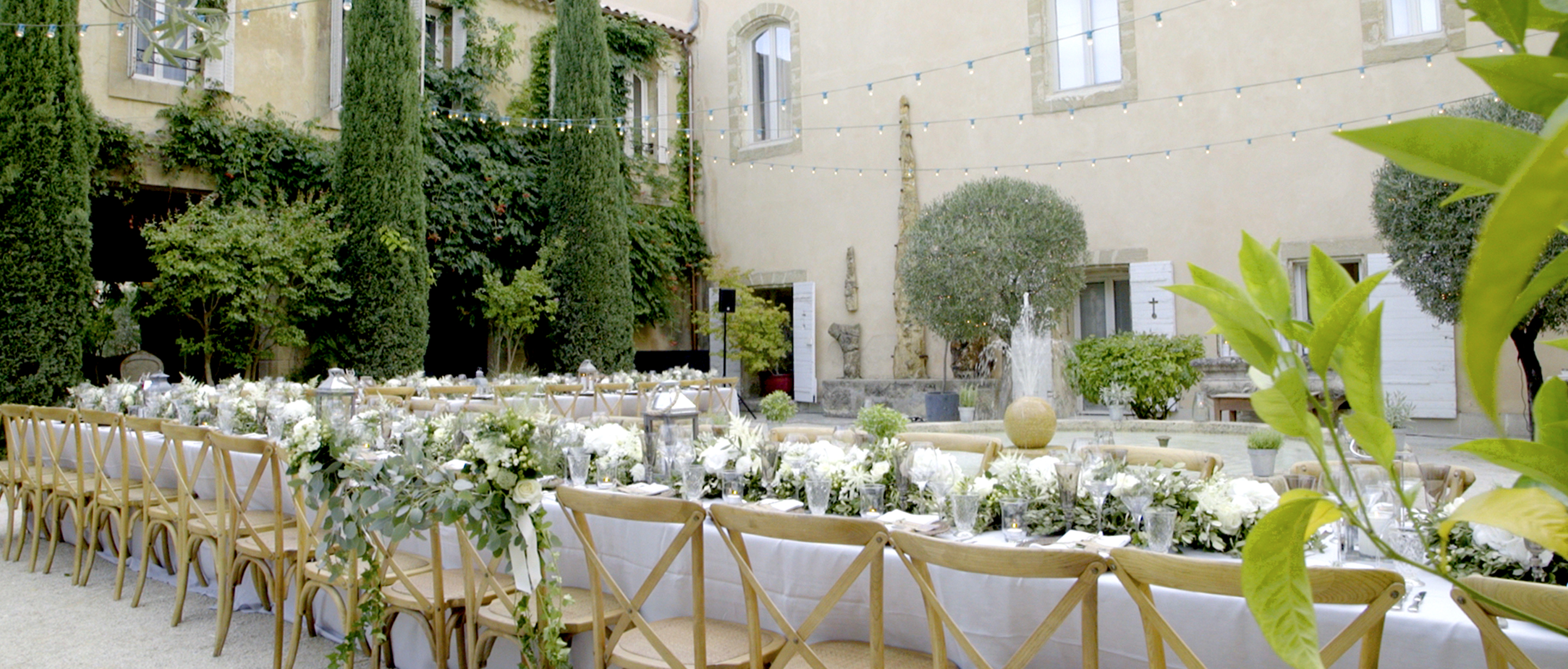 beautiful chateau de massillan wedding south of france wedding inspiration