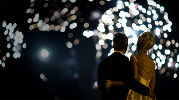 New Years' Eve Wedding at Eastnor Castle