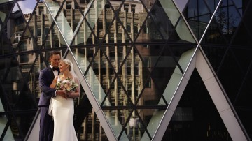 Wedding at The Gherkin
