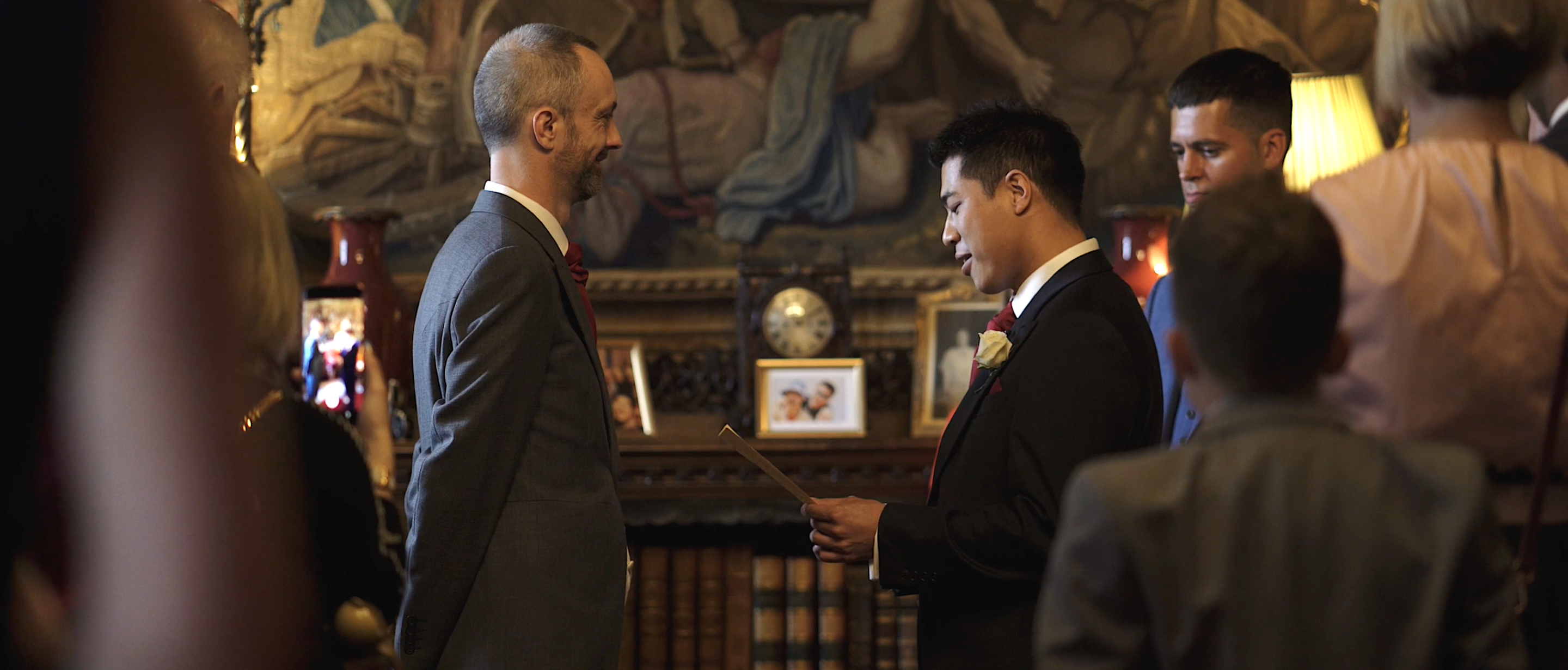 eastnor castle same sex gay wedding