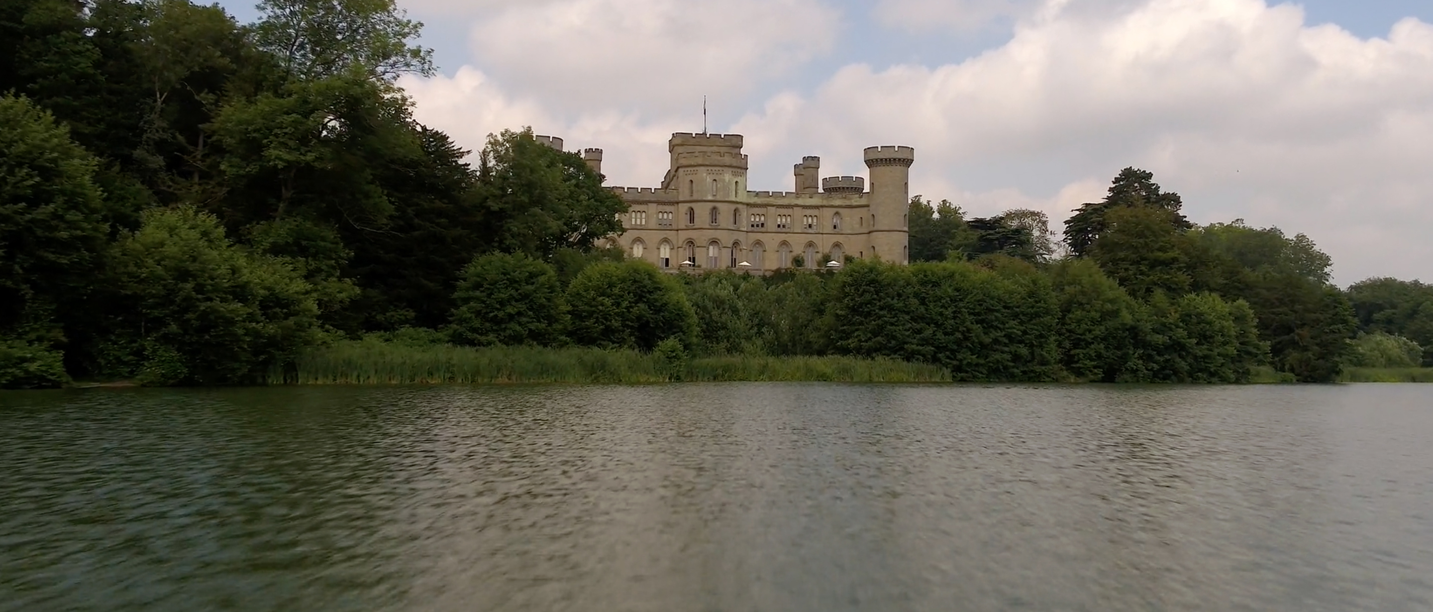 eastnor castle wedding drone
