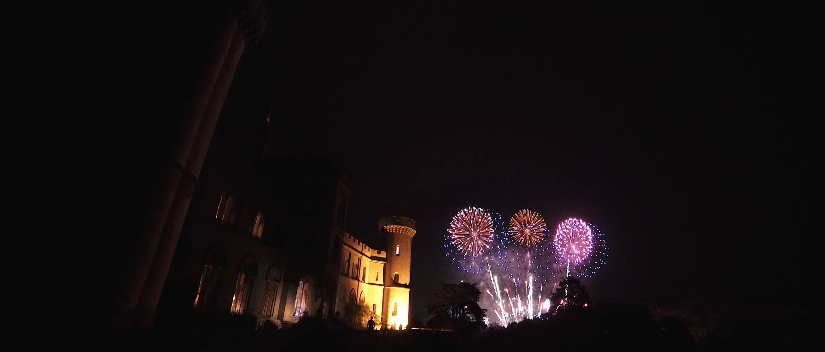 eastnor castle wedding fireworks