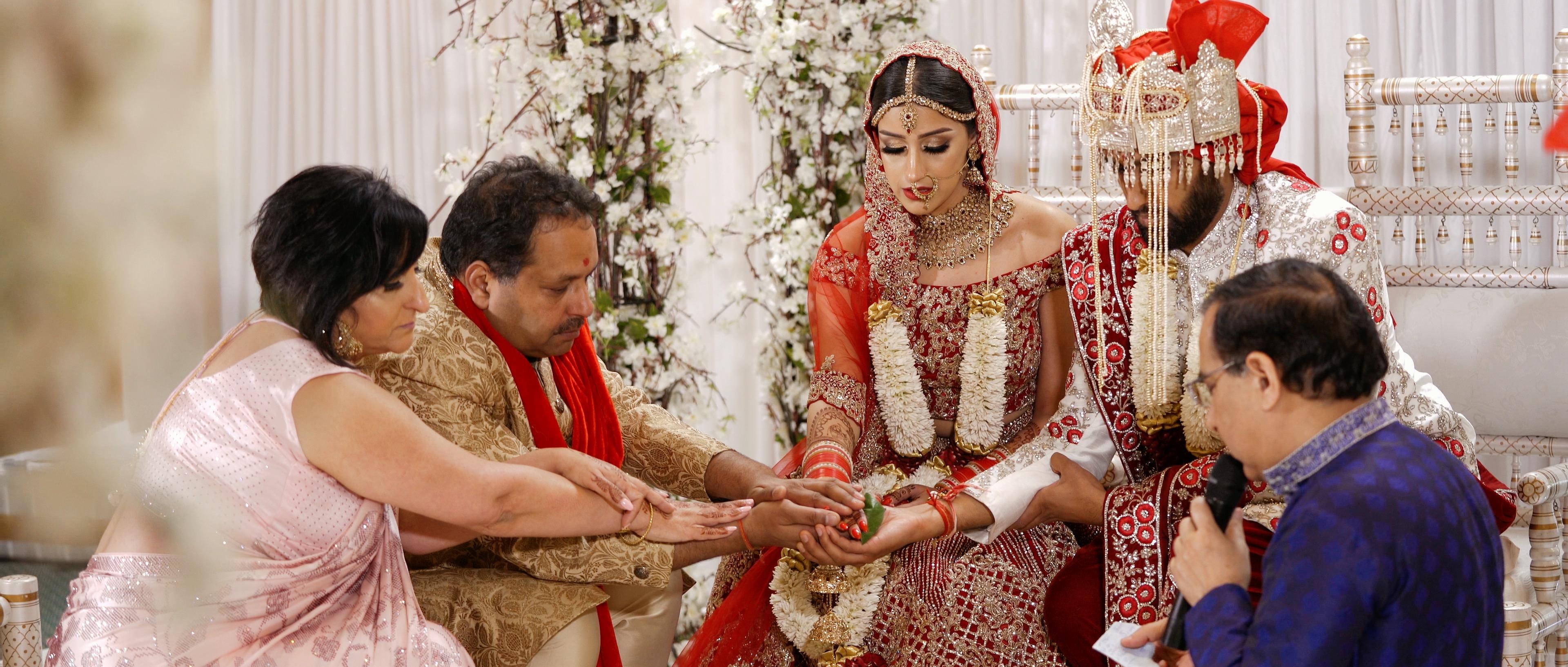 indian wedding ceremony chateau impney