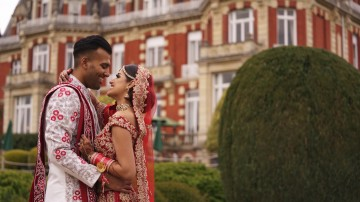 Luxury Indian wedding at Chateau Impney in Worcestershire
