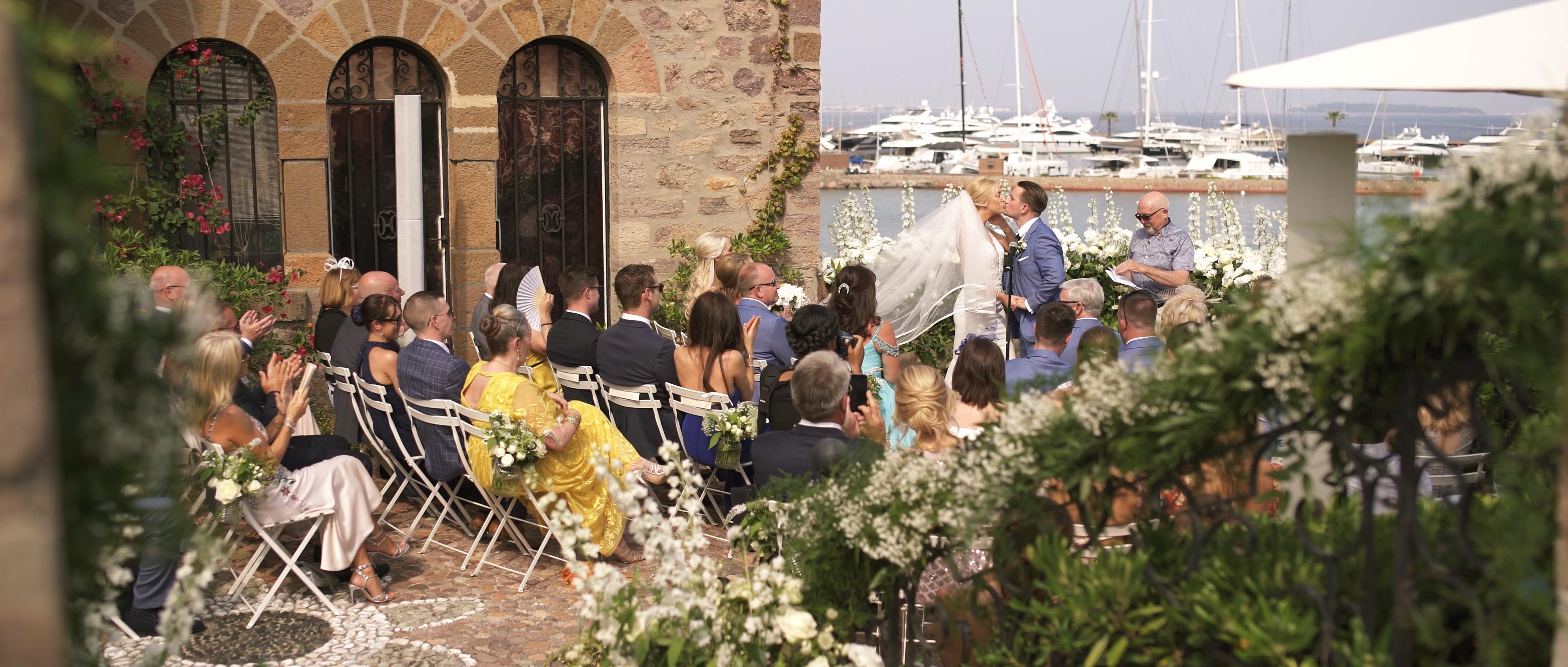 CHATEAU DE LA NAPOULE WEDDING