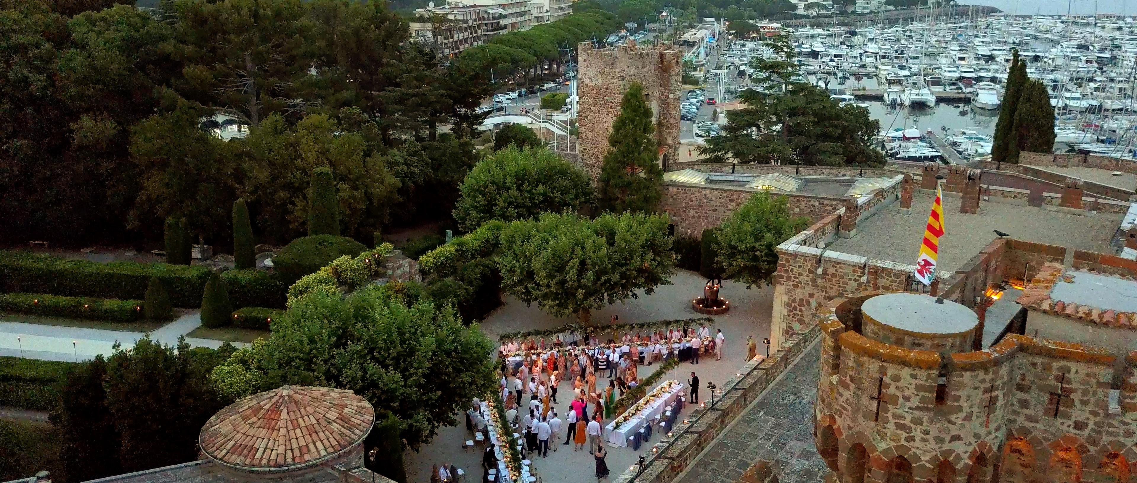 Chateau de la CHATEAU DE LA NAPOULE WEDDING