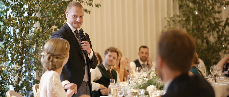 coworth park wedding decor royal wedding speeches