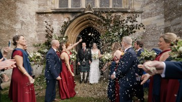 Orchardleigh Estate wedding film Bath