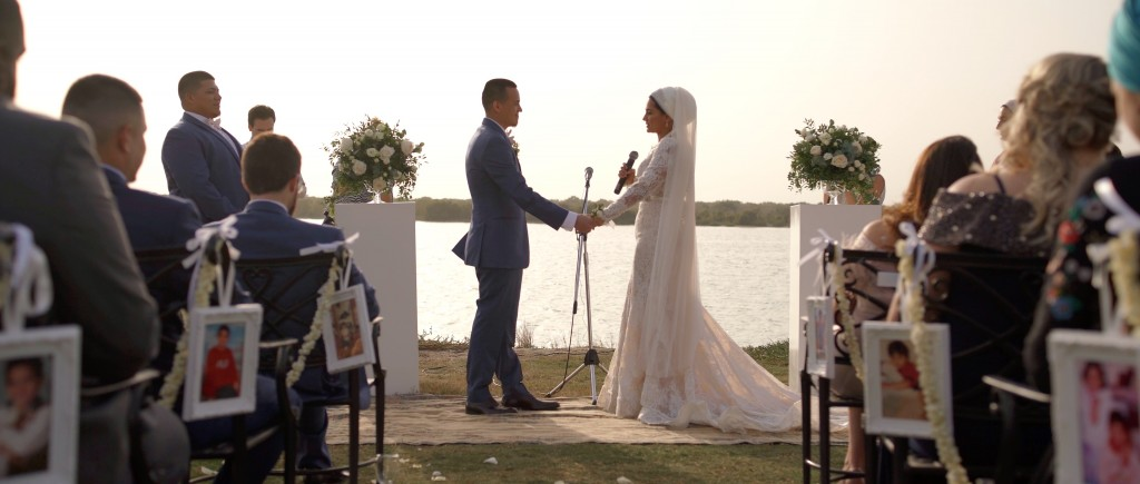 An intimate wedding ceremony in Abu Dhabi
