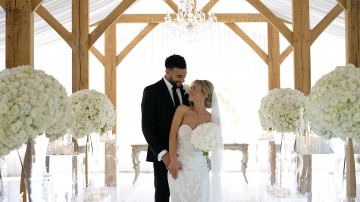 Kayleigh & Connor Goldson's Merrydale Manor Wedding
