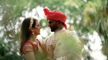 Hindu Greek mixed faith wedding